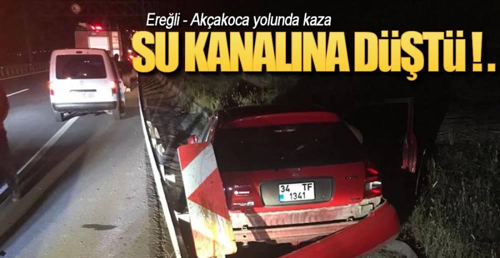 TÜNELLER BÖLGESİNDE KAZA !.