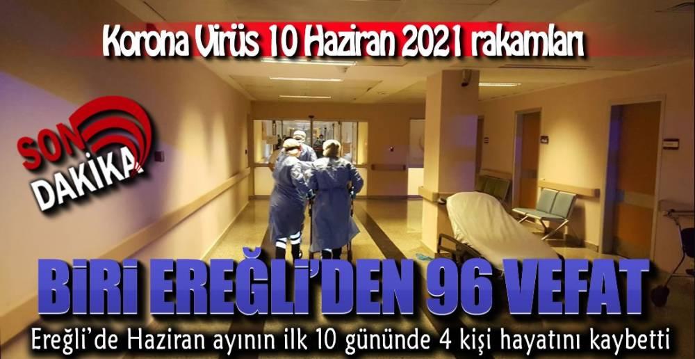 TÜRKİYE GENELİ VE EREĞLİ'DE BUGÜN !.