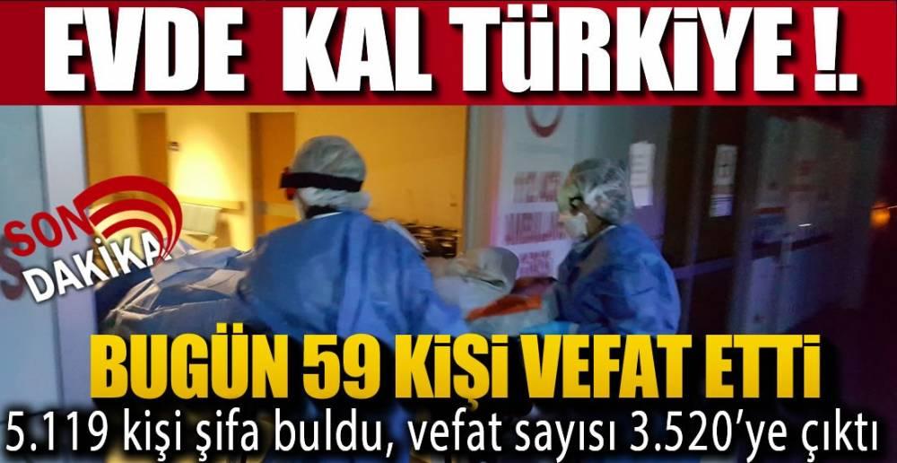 VAFAT SAYISINDA DÜŞÜŞ DEVAM EDİYOR !.