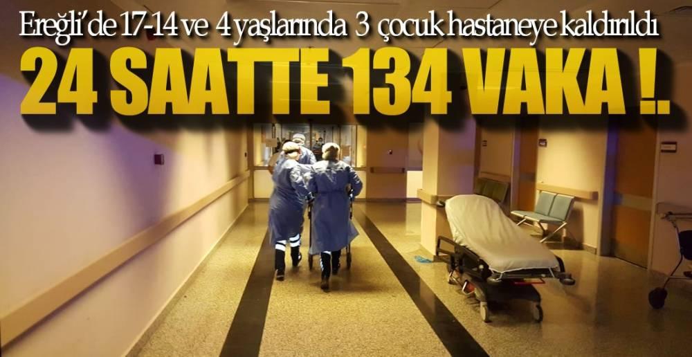 VAKA ARTIŞI SÜRÜYOR !.