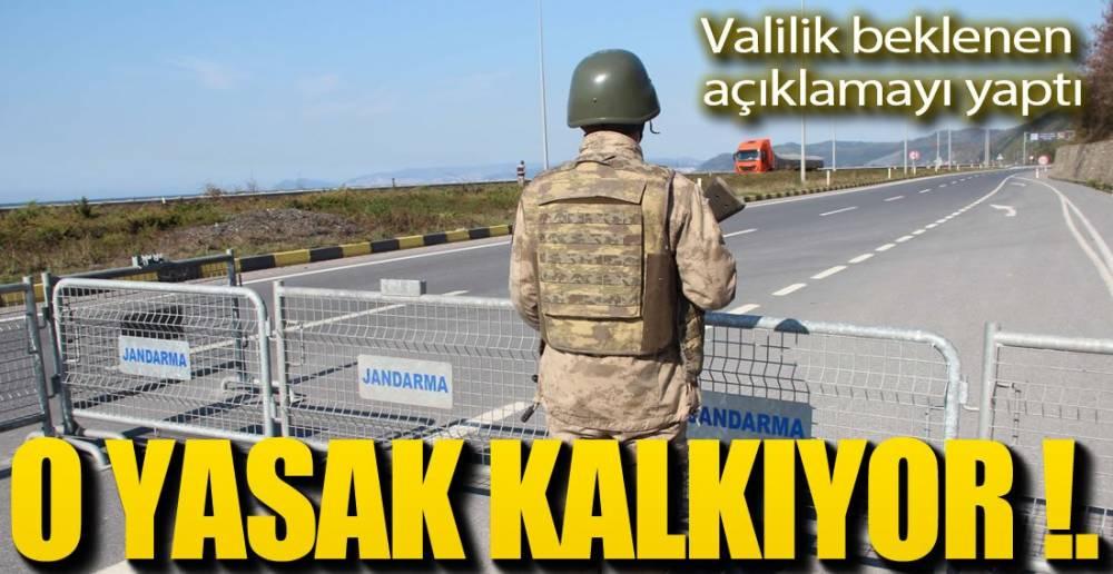 VALİLİK YENİ KARARLAR ALDI !.