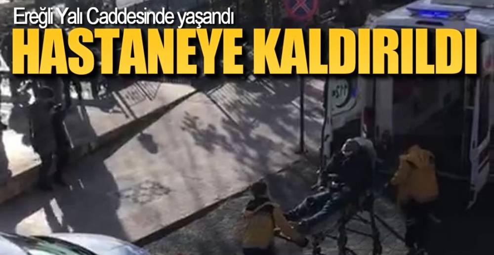 YALI CADDESİNDE YAŞANDI !.