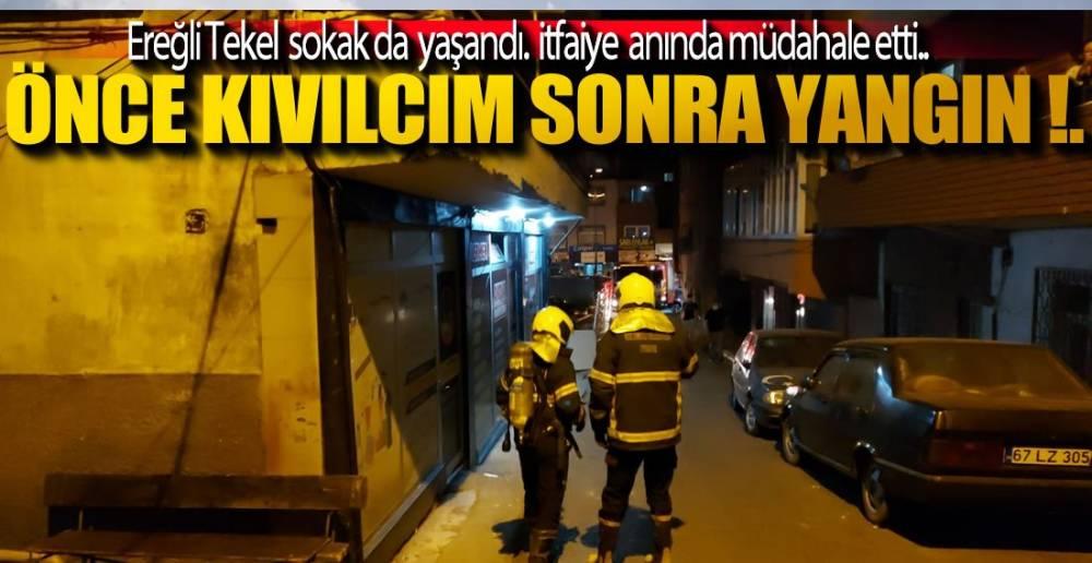 YANGIN PANİĞİ !.