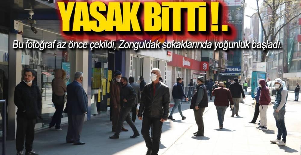 YASAK BİTİNCE BİZ !.