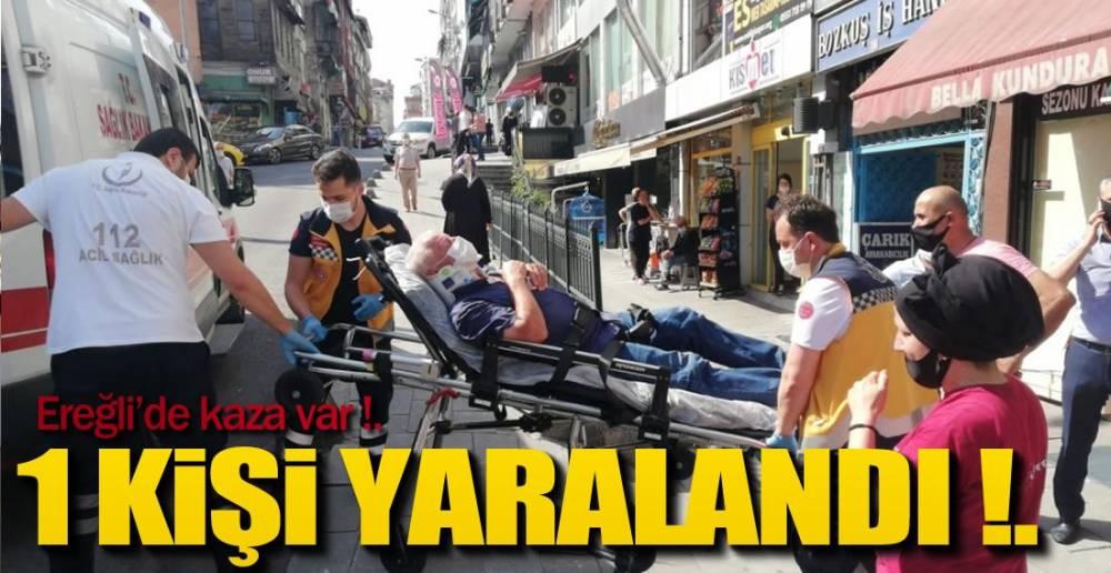 YAYAYA ÇARPAN ARACIN KAÇTIĞI İDDİA EDİLDİ !.