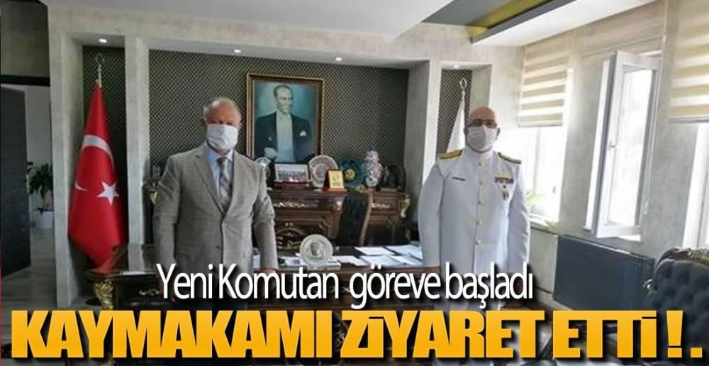YENİ KOMUTAN GÖREVE BAŞLADI !.