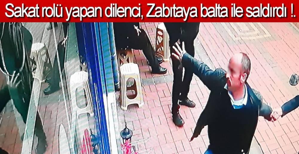 ZABITAYA BALTA İLE SALDIRDI !.