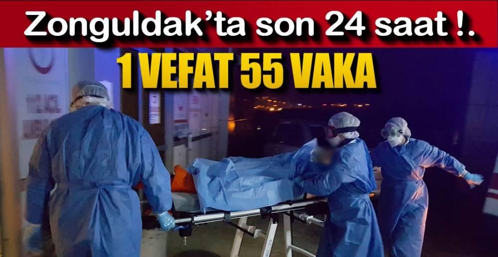 ZONGULDAK'TA BİR GÜNDE 55 VAKA !.