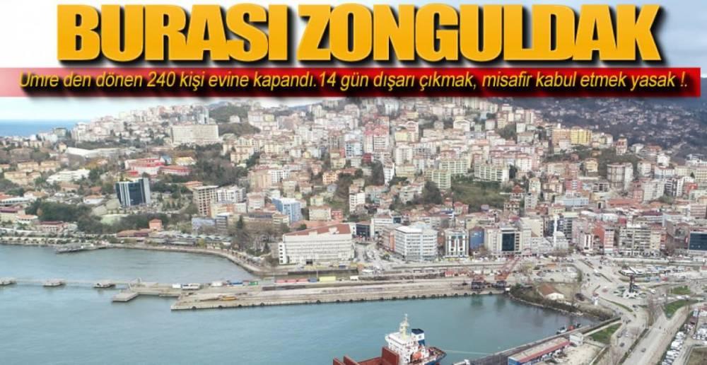 ZONGULDAK'TA CORONA ŞÜPHESİ !.