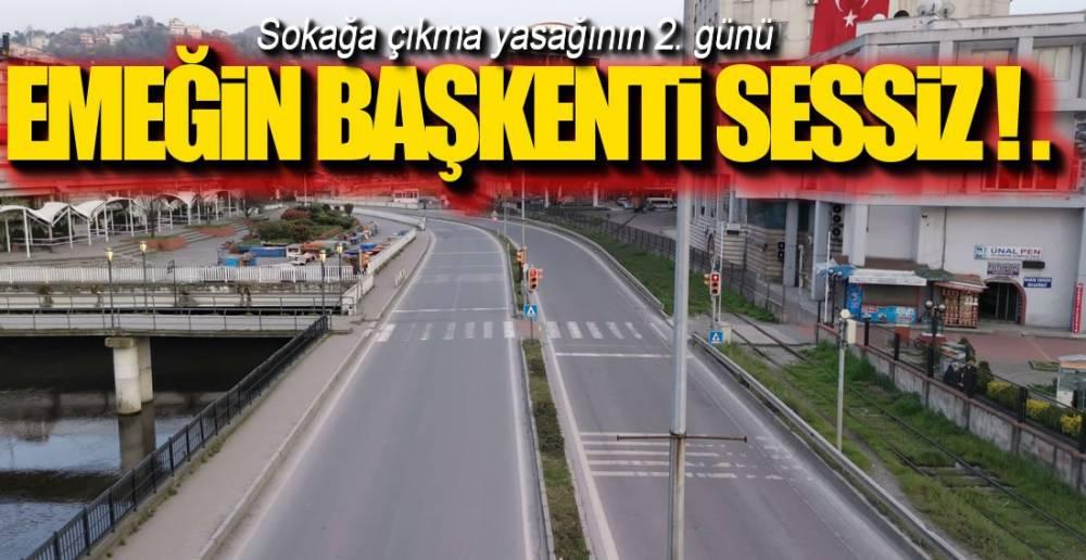 ZONGULDAK'TA SOKAĞA ÇIKMA YASAĞI !.