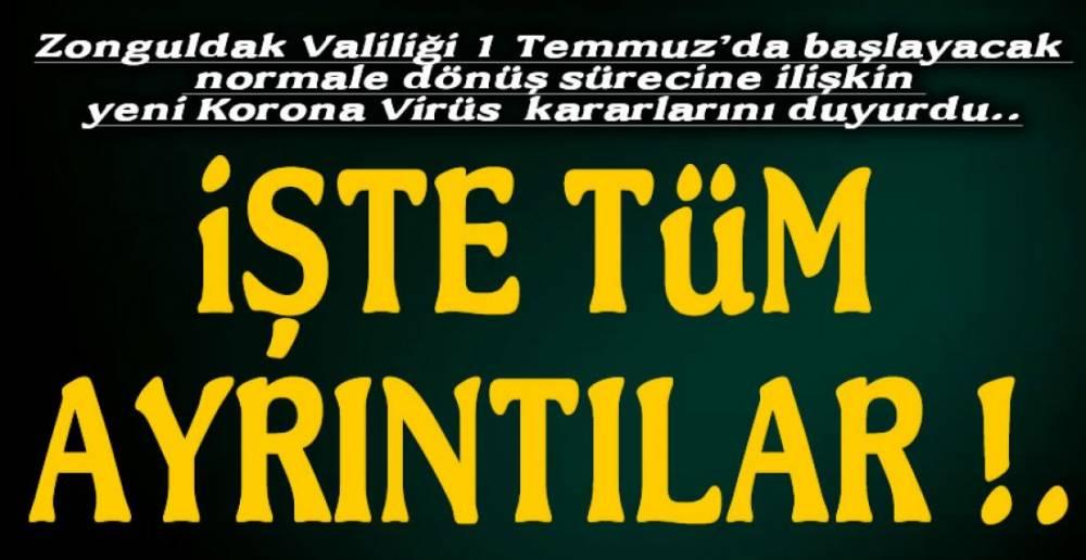 ZONGULDAK VE 1 TEMMUZ !.