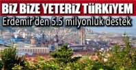 ERDEMİR DUYARSIZ KALMADI !.