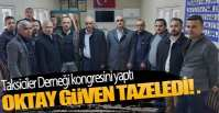 TAKSİCİLER KONGREYE GİTTİ !.