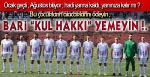 BİR FUTBOLCUNUN İSYANI !.