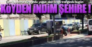 EREĞLİ TRAFİĞİNDE BİR TARIM ARACI !.