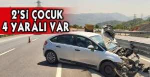 EREĞLİ-ZONGULDAK YOLUNDA KAZA !.