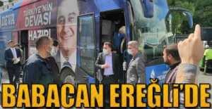 GENEL BAŞKAN EREĞLi'DE !.