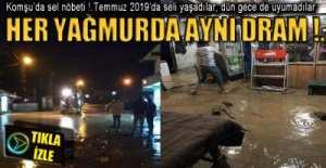KOMŞUDA SEL NÖBETİ !.