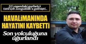 MEMLEKETİNDE TOPRAĞA VERİLDİ ..