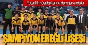 ŞAMPİYON EREĞLİ LİSESİ ..