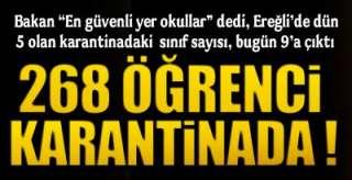 EREĞLİ'DE SON DURUM !.