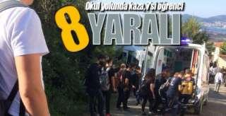 8 YARALI VAR !.