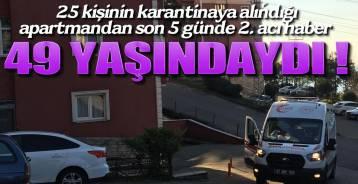 APARTMAN KARANTİNAYA ALINMIŞTI !.