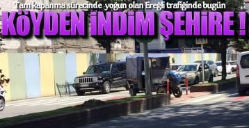 TRAFİKTE BİR TARIM ARACI !.