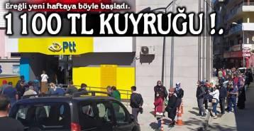KUYRUK SOKAK ARALARINA KADAR UZADI !.