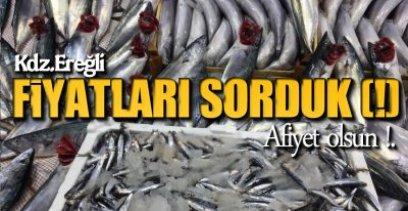 BALIK TEZGAHA İNDİ !.