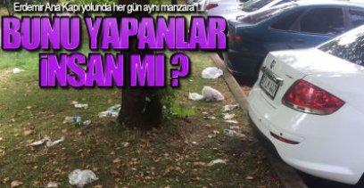 EREĞLİ'YE YAKIŞMAYAN MANZARA !.