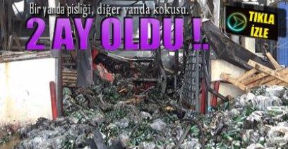 MAHALLE SAKİNLERİ TEPKİLİ !.