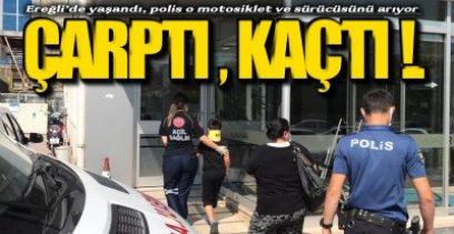 POLİS O MOTOSİKLETİ VE SÜRÜCÜSÜNÜ ARIYOR !.