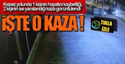 SANİYE SANİYE GÖRÜNTÜLENDİ !.