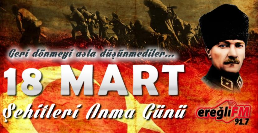 18 MART ÇANAKKALE ZAFERİNİN 105.YILI