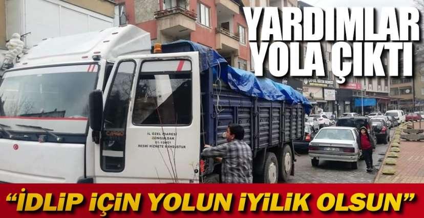 2 KAMYON YOLA ÇIKTI !.