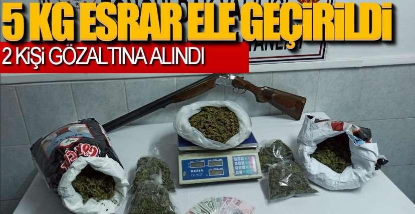 2 KİŞİ GÖZALTINA ALINDI !.