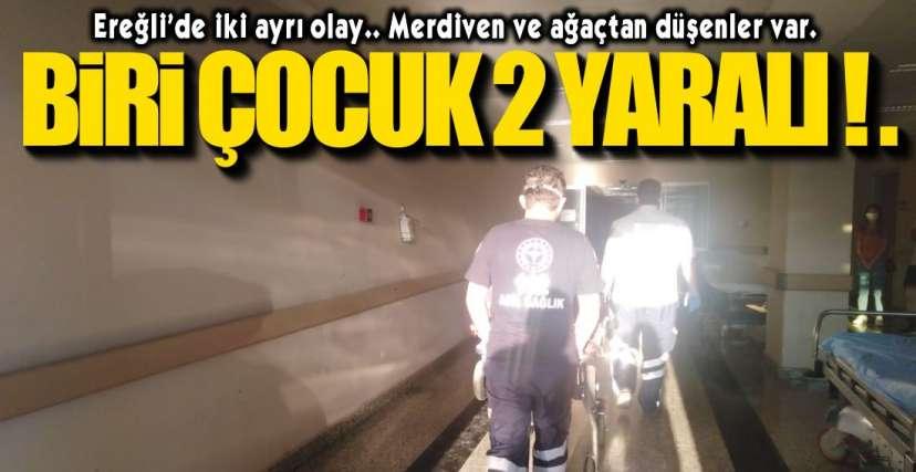 2 KİŞİ HASTANELİK OLDU !.