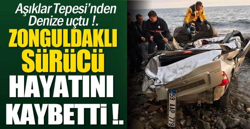 25 METREDEN DENİZE UÇTU !.