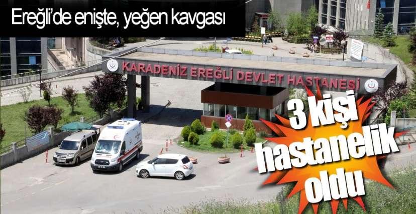 3 KİŞİ YARALANDI !.