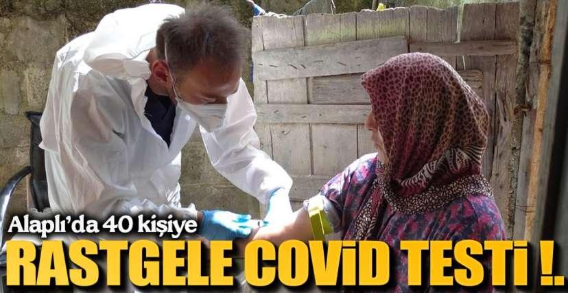 40 KİŞİYE COVİD-19 TESTİ !.