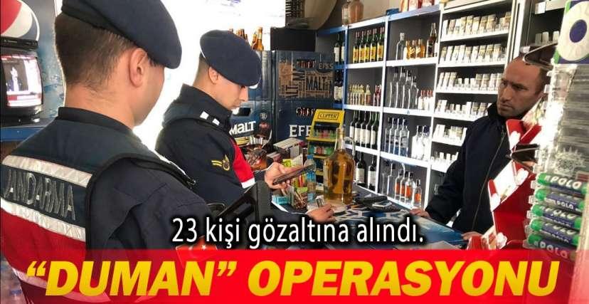 5 BİN KİŞİ SORGULANDI !.