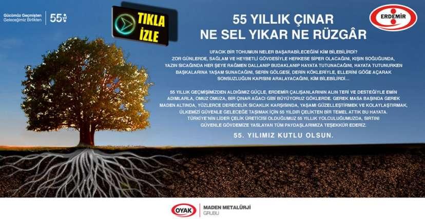 55 YILLIK ÇINAR NE SEL YIKAR NE RÜZGÂR !.