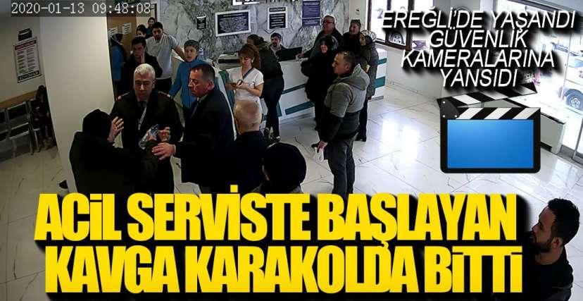 ACİLDE KAVGA KAMERADA !.