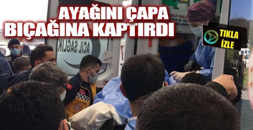 ALAPLI'DA TALİHSİZ KAZA !