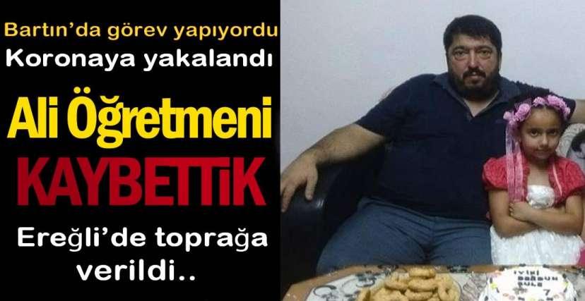 ALİ ÖĞRETMENİ KAYBETTİK !.