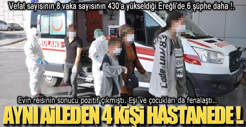 AMBULANSLAR PEŞ PEŞE GELİYOR !.