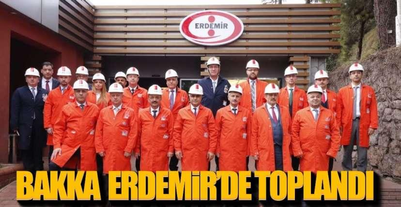 BAKKA ERDEMİR'İN EV SAHİPLİĞİNDE TOPLANDI !.