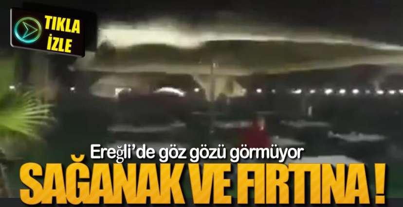 BİR ANDA GELDİ !.