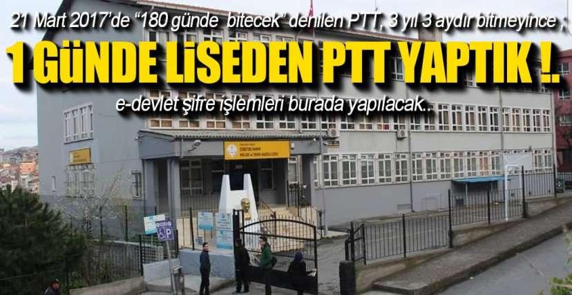 ÇAKIR, SORUNU ÇÖZDÜ !.